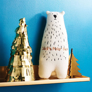 Personalised Polar Bear - christening gifts