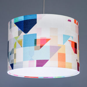 Flock Northmore Major Fabric Lampshade
