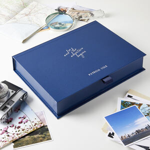 Personalised Adventure Begins Retirement Memory Box