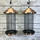 Stylish Extra Large Copper Nut Feeders