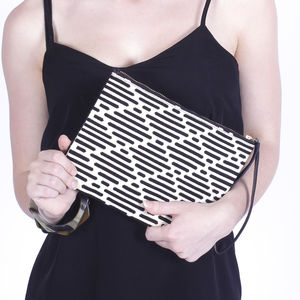 Ethically Made Backstrap Woven Clutch Bag