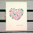 Floral Heart Screen Print