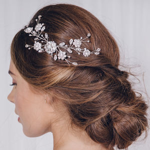 Small Crystal Bridal Hair Vine Comb Small Sydney - what's new