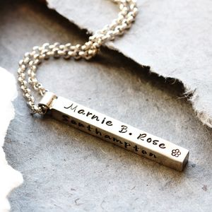 Personalised Mama Pendant - necklaces & pendants