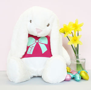Large Personalised Super Soft Belle Bunny