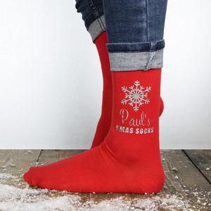 Personalised Christmas Socks