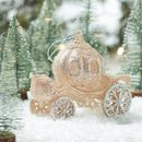 Gold Carriage Christmas Decoration
