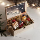 Light Up Wooden Christmas Eve Box
