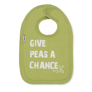 Give Peas A Chance Bib By Snuglo™