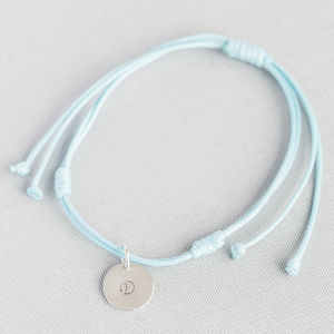 Personalised Disc Friendship Bracelet - jewellery gifts for friends