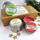 Christmas Scented Candle Collection