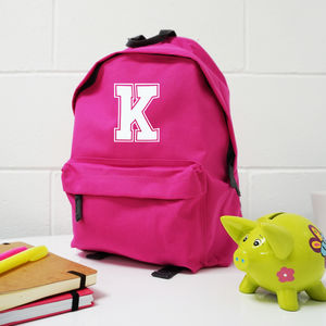 Initial Personalised Back Pack