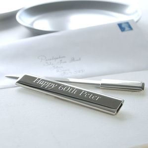 Personalised Silver Letter Opener - desk accessories