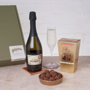 The Perfect Prosecco And Chocolate Truffles Box - foodies