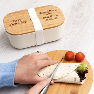 Personalised Lunch Hour Is The Best Hour Lunch Box