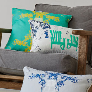 Juan Y Pitin Cuban Inspired Cushion - cushions