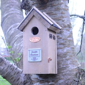 Personalised Wren Nesting Box - gifts under £25