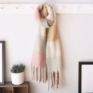 Pastel Check Scarf - sale