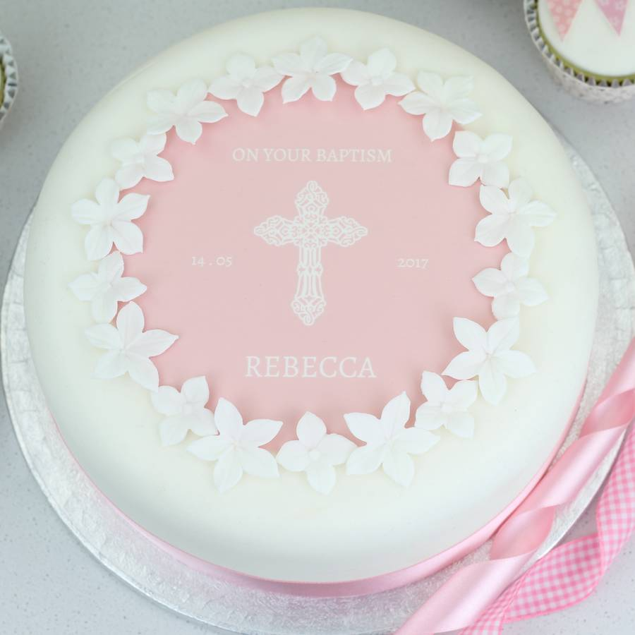 First Communion Cake Topper Kit