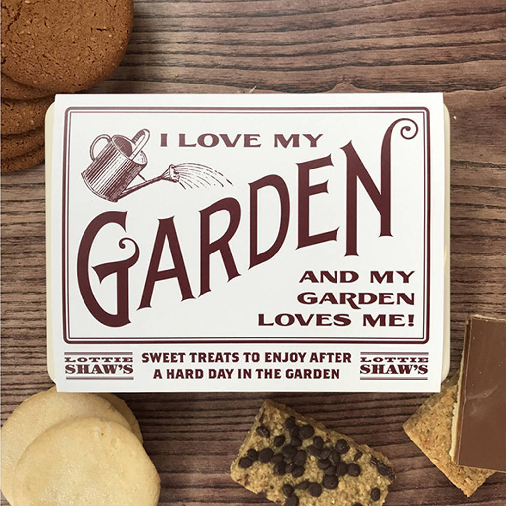 Gardener's Tin Full Of Treats