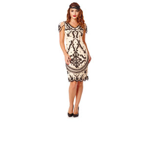 20s Inspired Hand Made Flapper Dress - women's fashion
