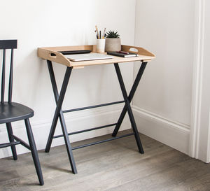 Clockhouse Desk Tray Carbon - furniture