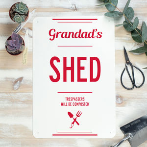 Garden Shed Sign For Grandad - new in garden