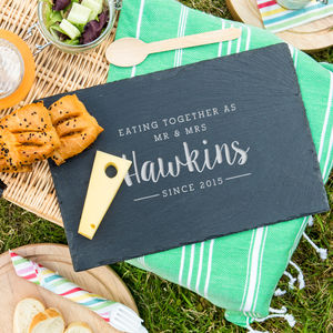 Personalised 'Eating Together Since' Serving Board