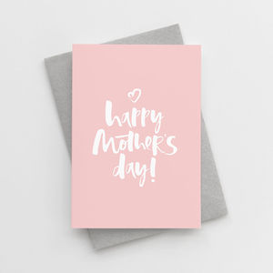'Happy Mother's Day' Mother's Day Card - mother's day cards