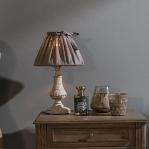 Mowbray Scalloped Bedside Lamp - bedside lamps