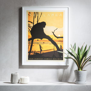 Bespoke Travel Adventures Print - best gifts for fathers