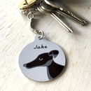 Dog Keyring Personalised