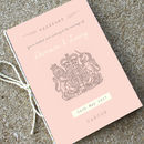 Blush Passport Wedding Invitation Travel Booklet