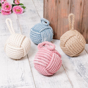 Nautical Jute Door Stop - decorative accessories