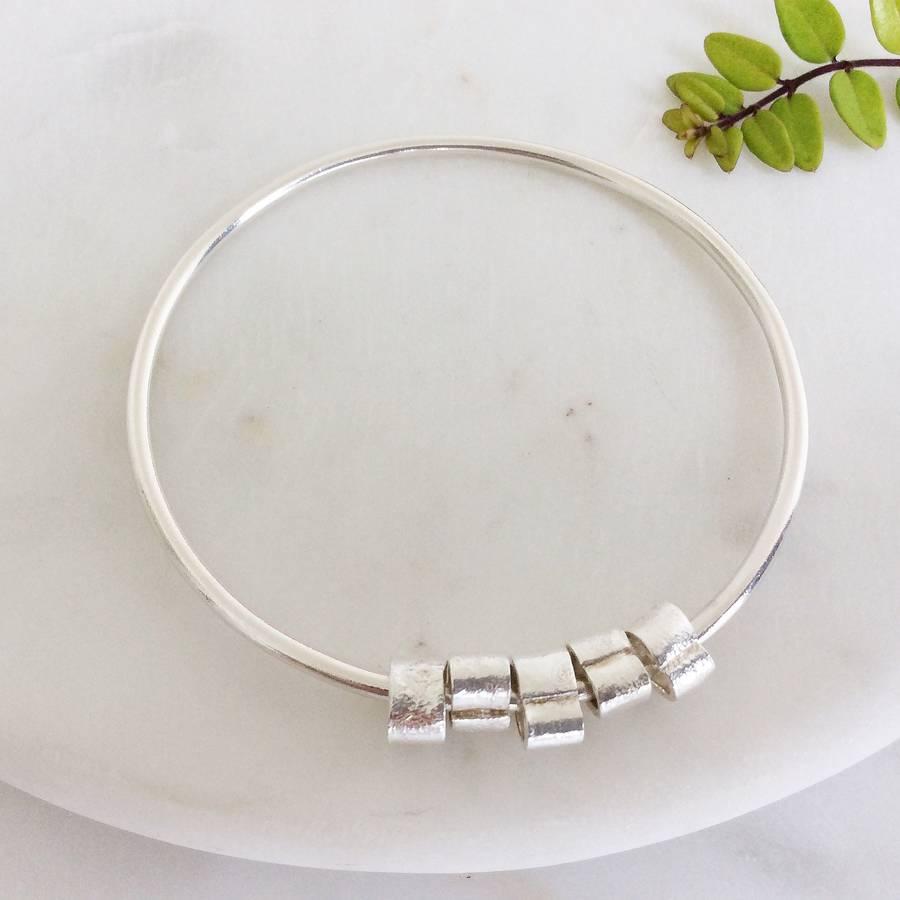 Silver Loop Bangle