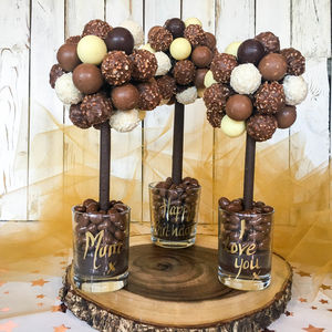Personalised Mixed Truffle Tree - novelty chocolates
