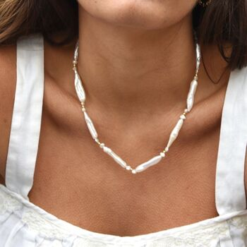 Limited Edition Keshi Pearl Necklace