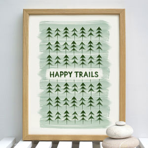 Happy Trails Leaving Gift - nature & landscape