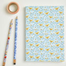 A5 Folk Birds Pattern Notebook