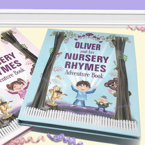 Personalised Nursery Rhymes Adventure Book
