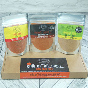 King Of The Grill Bbq Rub Box - savouries