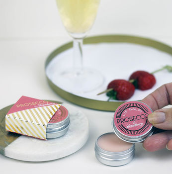 Fizz And Strawberry Lip Balm Gift