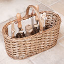 Personalised Deluxe Garden Tool Storage Basket