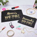 Personalised Mum And Child War Paint Make Up Set
