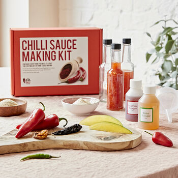 Make Your Own Chilli Sauce Kit