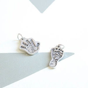 Personalised Handprint Charm - women's jewellery