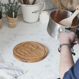Personalised Wooden Trivet - chopping boards