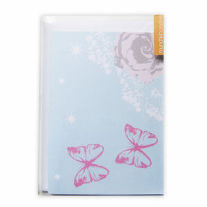 Pack Of Five Floral Notecards