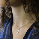 Sterling Silver Solar Plexus Chakra Necklace