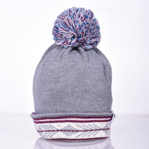 Cormack 'Contrast Blast' Merino Wool Beanie Hat - men's accessories